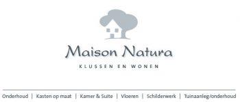 Maison Natura – klussen en wonen
