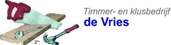 Timmer en klusbedrijf de Vries