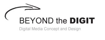 Beyond the Digit – Digital Media Concept and Design