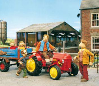 Kleine Rode Tractor