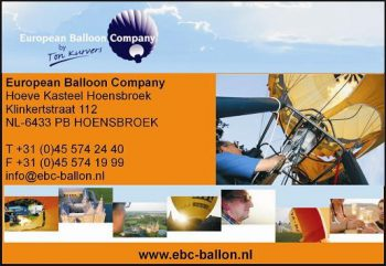 European Balloon Company / Hoeve Kasteel Hoensbroek