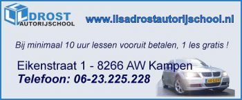 Lisa Drost Autorijschool