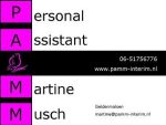 Personal Assistant Martine Musch