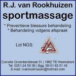 R.J. van Rookhuizen sportmassage