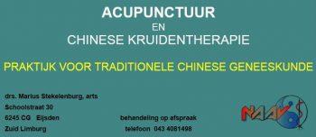 M. Stekelenburg, arts voor acupunctuur en fytotherapie