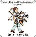 Timmer Klus en Onderhoudsbedrijf de Haan