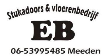 EB Stucadoors en Vloerenbedrijf
