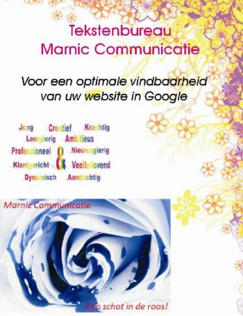 Tekstenbureau Marnic Communicatie
