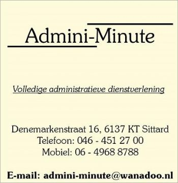 Admini-minute