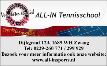 All-in tennisschool