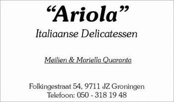 Ariola italiaanse delicatessen