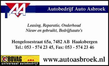 Autobedrijf auto Asbroek