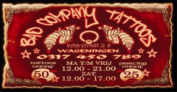 Bad company tattoos