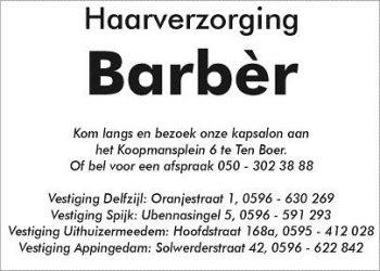 Haarverzorging barber bv