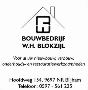 Bouwbedrijf w.h. blokzijl