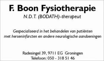 F. Boon fysiotherapie
