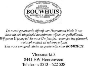 Drankenspeciaalzaak Bouwhuis