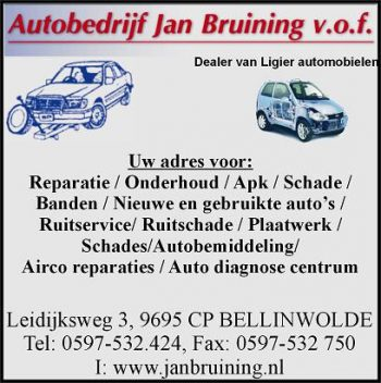 Autobedrijf Jan Bruining v.o.f.