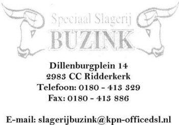 Speciaal slagerij Buzink