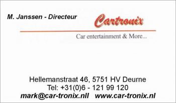 Cartronix car entertainment and more…