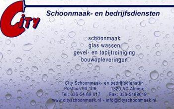 City schoonmaak- en bedrijfsdiensten