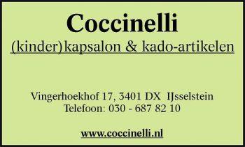 Coccinelli (kinder)kapsalon & kado artikelen