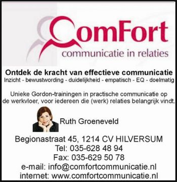 Comfort communicatie in relaties