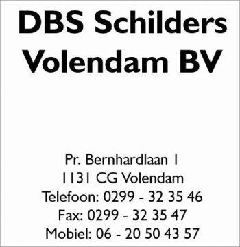 D.b.s. schilders Volendam bv