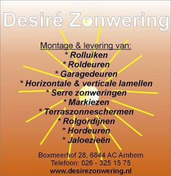 Desire zonwering