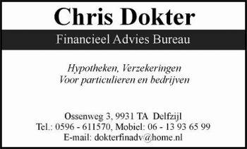 Chris dokter financieel advies bureau
