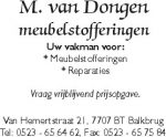 M. van dongen meubelstofferingen