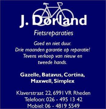 J. Dorland fietsreparaties