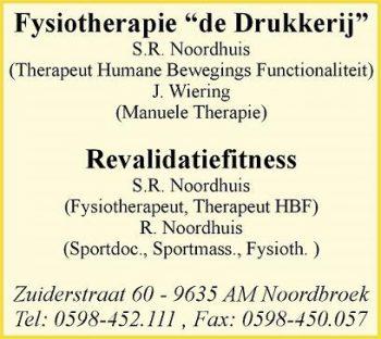 Fysiotherapie de drukkerij