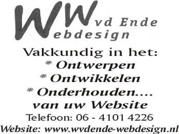 W vd Ende webdesign