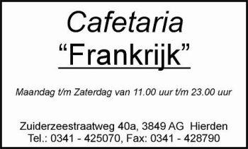 Cafetaria frankrijk