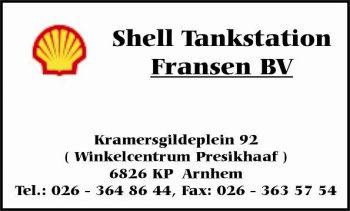 Shell tankstation fransen bv