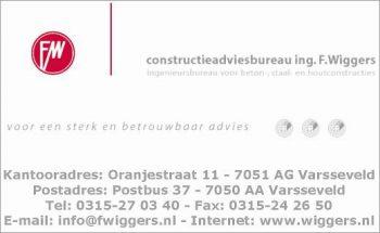 Constructieadviesbureau f. wiggers