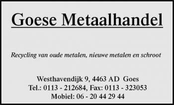 Goese metaalhandel