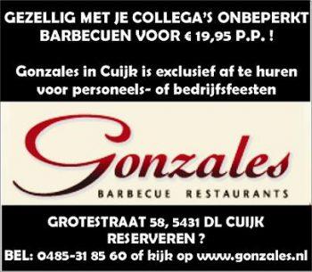 Gonzales bbq Cuijk