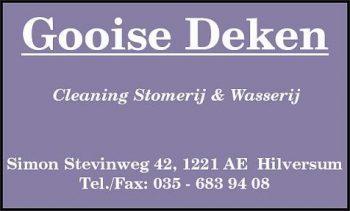 Gooise deken cleaning