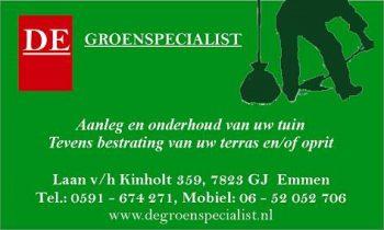 De groenspecialist willem roosendaal