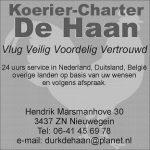 Koerier-charter de haan