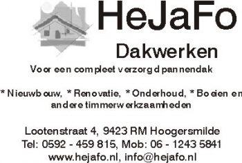 Hejafo dakwerken