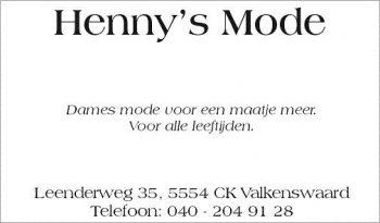 Henny s mode