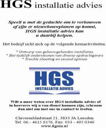 Hgs installatie advies