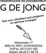 Onderhouds- en voegbedrijf G. de Jong