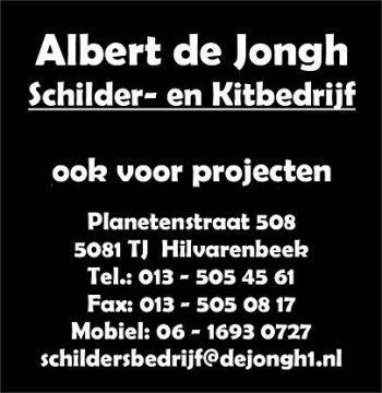 Albert de Jongh schilderwerken