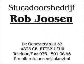 Stucadoorsbedrijf Rob Joosen