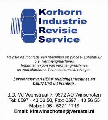 Kirs korhorn industrie revisie service