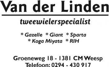 Van der linden tweewielerspecialist